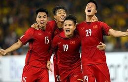 BXH FIFA: ĐT Việt Nam bị ĐT Thái Lan thu hẹp khoảng cách