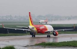 Thời tiết xấu ảnh hưởng tới nhiều chuyến bay