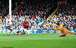 VIDEO Martial dẫn bóng như chỗ không người ghi bàn thứ 2 cho Man Utd