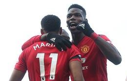 Pogba lại lập cú đúp, Man Utd đánh chiếm vị trí thứ 4 Ngoại hạng Anh