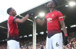VIDEO Fulham 0-3 Man Utd: Song sát Martial - Pogba rực sáng