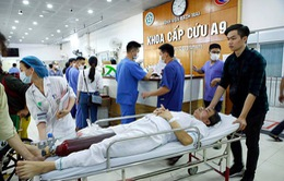Bệnh nhân cấp cứu tăng 30% dịp Tết Kỷ Hợi