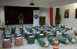 Thái Lan thu giữ ma túy trên sông Mekong