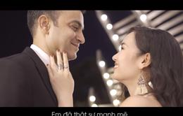 Võ Hạ Trâm đóng chung MV ca nhạc cùng ông xã ngoại quốc