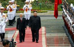 Chủ tịch Triều Tiên Kim Jong-un bắt đầu chuyến thăm hữu nghị chính thức Việt Nam
