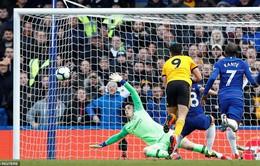 VIDEO tổng hợp diễn biến Chelsea 1-1 Wolverhampton (Vòng 30 Ngoại hạng Anh)