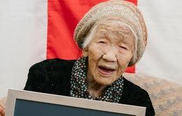 Cụ bà Nhật Bản trở thành người cao tuổi nhất thế giới