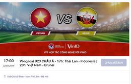 Hôm nay (10/3), mở cổng bán vé online xem U23 Việt Nam tại vòng loại U23 châu Á 2020
