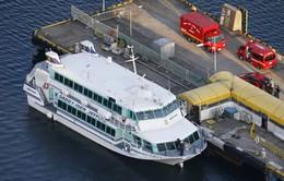 Tàu cao tốc cánh ngầm gặp nạn trên biển Nhật Bản, hơn 80 người bị thương