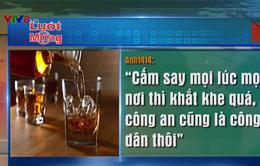 Xung quanh đề xuất cấm công an uống rượu say ở mọi địa điểm