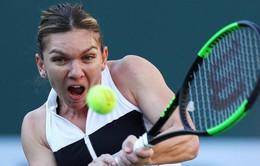 Simona Halep nhọc nhằn giành quyền vào vòng 4 Indian Wells