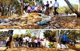 Thử thách dọn rác - Trào lưu mới bảo vệ môi trường