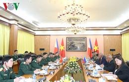 Tăng cường hợp tác quốc phòng Việt Nam - Philippines