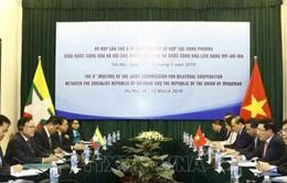Quan hệ chính trị Việt Nam và Myanmar ngày càng tin cậy và gắn bó