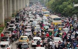 Hà Nội tổ chức lại giao thông trên nhiều tuyến đường