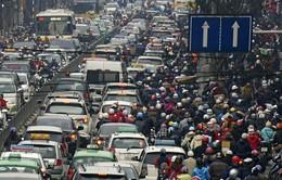 Số lượng phương tiện giao thông tại Thủ đô gia tăng một cách chóng mặt