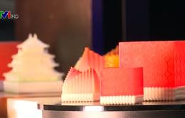 Độc đáo sushi làm từ công nghệ 3D