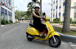 Ra mắt xe máy điện ứng dụng công nghệ 4.0 của người Việt