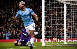 Nếu ghi 2 bàn vào lưới Man Utd, Aguero sẽ đi vào lịch sử derby Manchester