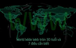 World Wide Web tròn 30 tuổi và 7 điều cần biết