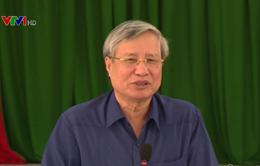 Thường trực Ban Bí thư Trần Quốc Vượng thăm và làm việc tại Tiền Giang