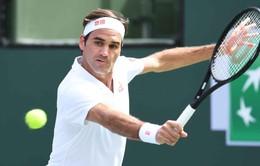 Federer ghi tên mình vào tứ kết Indian Wells 2019