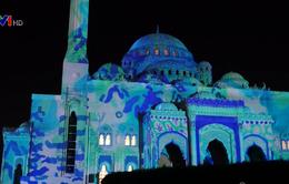 Rực rỡ sắc màu với lễ hội ánh sáng tại Sharjah