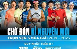 K+ tiếp tục sở hữu bản quyền ATP World Tour series trong 5 mùa giải