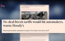 Tác động của Brexit không thỏa thuận với ngành công nghiệp ô tô