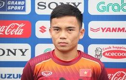 Lương Hoàng Nam đặt mục tiêu cùng U23 Việt Nam giành ngôi nhất bảng