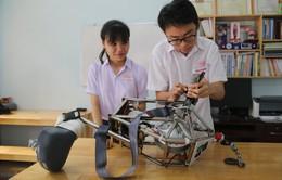 Học sinh chế tạo thành công thiết bị thoát hiểm khi xảy ra cháy tại chung cư cao tầng