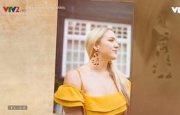Hoa tai to bản vintage mang lại nét cá tính cho các cô nàng