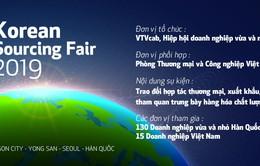 VTVcab phối hợp tổ chức Hội thảo Korean Sourcing Fair 2019