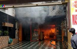 Cháy lớn khách sạn ở Hải Phòng, 1 người thiệt mạng