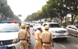 Xử phạt nhiều tài xế không cài dây an toàn khi lưu thông