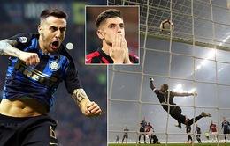 VIDEO tổng hợp diễn biến Milan 2-3 Inter (Vòng 28 Serie A)
