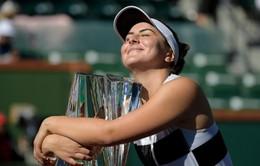 Bianca Andreescu giành ngôi vô địch đơn nữ Indian Wells 2019