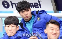 Công Phượng không được ra sân trong trận mở màn của Incheon United