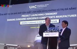 Lễ ra mắt dự án nhà máy sản xuất linh kiện máy bay tại Đà Nẵng