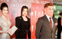 Quách Phú Thành bảnh bao, Loan Vương kiêu sa trên thảm đỏ LHP Hong Kong 2019