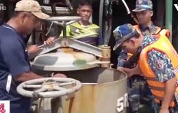 Nhức nhối tình trạng buôn lậu dầu trên vùng biển Tây Nam