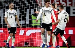 Kết quả bóng đá sáng 21/3: Đức 1 - 1 Serbia, Xứ Wales 1 - 0 Trinidad & Tobago