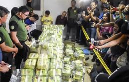 Philippines thu giữ lô ma túy đá trị giá hơn 20 triệu USD