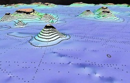 Bản đồ mới tiết lộ hàng ngàn ngọn núi ngầm chưa từng được biết đến trên Trái Đất