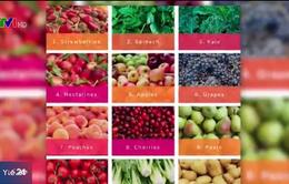 Những loại rau củ chứa nhiều dư lượng thuốc trừ sâu nhất