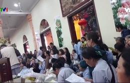 """Vụ """"gọi vong"""" ở chùa Ba Vàng: Có dấu hiệu lừa đảo chiếm đoạt tài sản"""