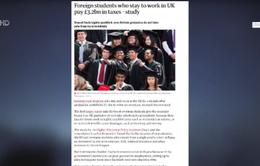 Anh nới visa nhằm tăng sinh viên du học quốc tế