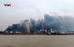 Trung Quốc: Nổ nhà máy hóa chất, hơn 30 người thương vong