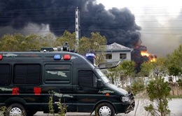 Những vụ nổ nhà máy hóa chất gần đây tại Trung Quốc