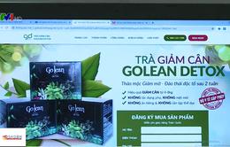 Trà giảm cân chứa chất cấm bán tràn lan